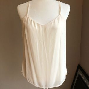 Loft Ivory Woven Camisole